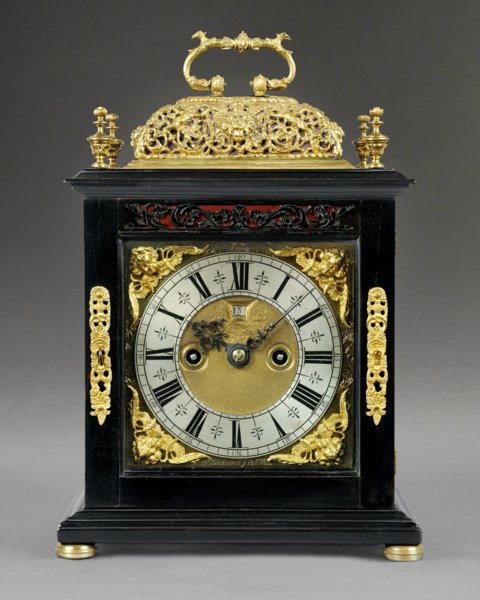 An Antique Clock By John Beeckman In Ye Pall Mall C1695